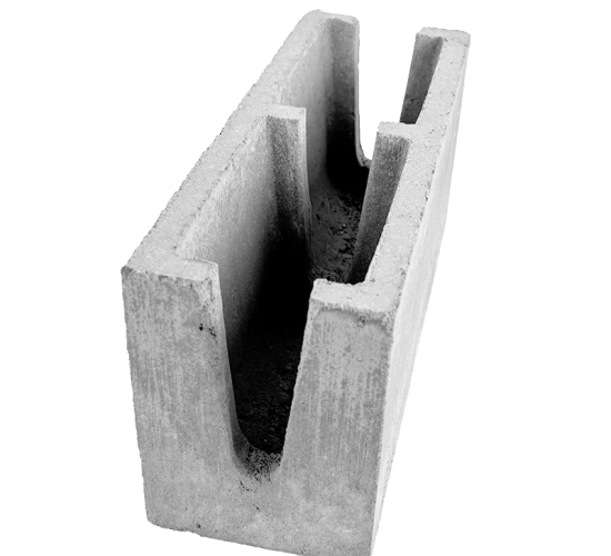 Canaleta com Reforço 14x19x39cm